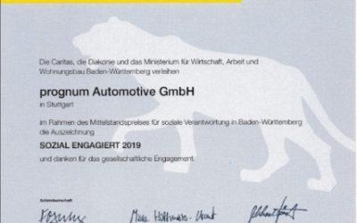 """Auszeichnung LEA Mittelstandspreis """"SOZIAL ENGAGIERT"""""""